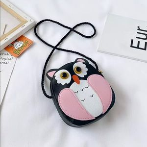 Kawaii Owl Purse for Kids and Toddlers
